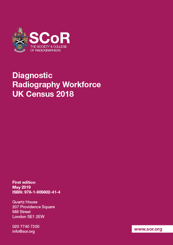 Diagnostic Radiography Workforce UK Census 2018